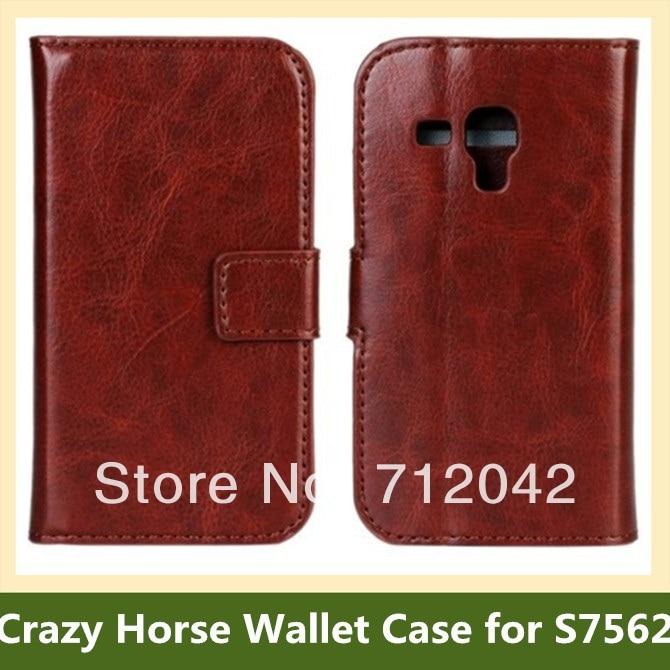 Nou caz de nebun model de cauciuc din portofel din piele PU pentru - Accesorii și piese pentru telefoane mobile