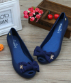 Sandalia Rasteirinha Feminina Plastic Jelly Shoes Peep Toe Sandals 2014 Summer New Sandalias Femininas
