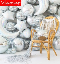 VIPOINT PARTY 22inch Laser gradient foil balloons wedding event christmas halloween festival birthday party PD-96