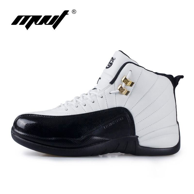 Cushioning Mixed color men basketball shoes Brand men sneakers New winter sport boots leather stitching athletic shoes peak sport men outdoor bas basketball shoes medium cut breathable comfortable revolve tech sneakers athletic training boots