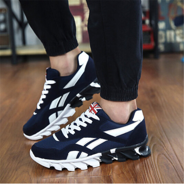 Spring Autumn Men's Sneakers 2018 Men Running Shoes Trending Sports Shoes Breathable Trainers Sneakers For Male Plus Size 49
