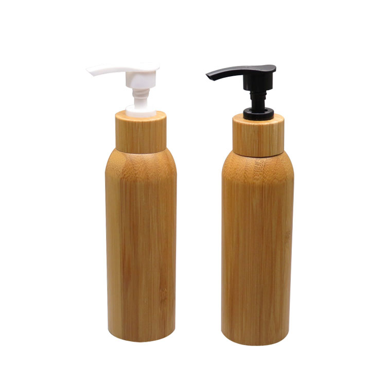 10pcs 120ml Empty Bamboo Shampoo Lotion Pump Refillable Bottle PET Body Cream Shower Packaging Container DIY Cosmetic Tools lx pump ea320 ea350 pump wet end pump body
