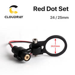 Cloudray диод модуль Red Dot комплект позиционирования DC 5 V для DIY Co2 лазерной гравировки режущая головка