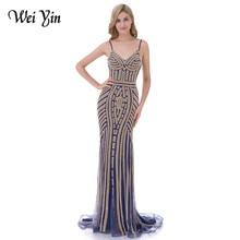 wei yin WeiYin Robe De Soiree Party Dress Evening Dresses