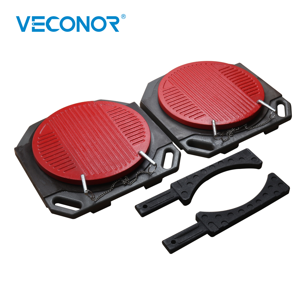 Veconor Wheel Alignment Turning Plates Alignment Turn Tables Wheel Aligner Turntable Turn Plates & Ramps For Car Wheel Alignment alu alloy turnplate for wheel aligner steering turntable