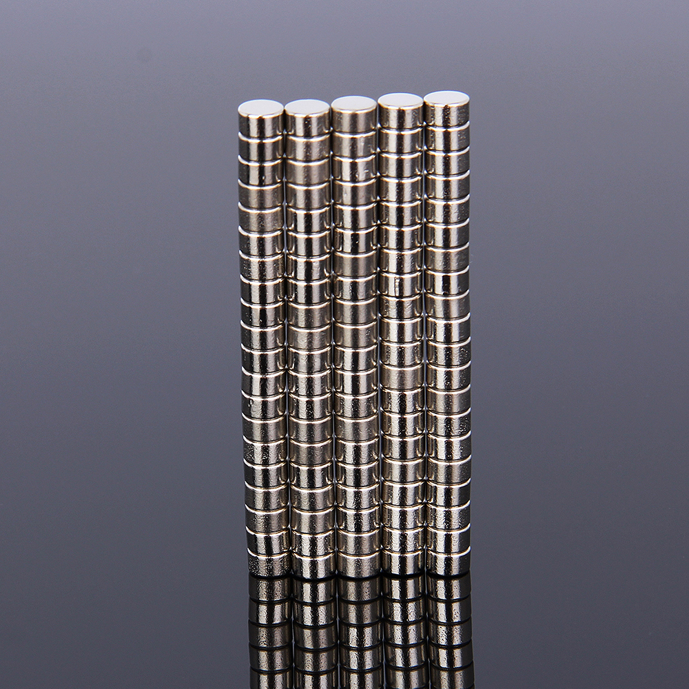 Hakkin 100Pcs Mini 5x3 mm N35 Rare Earth Neodymium Strong Magnet Mass Super Magnets New Arrival 5mm x 3mm 5*3mm new arrival neodymium magnet imanes n35 25x10x3mm strong ring countersunk rare earth new arrival 2015 women jackets coats