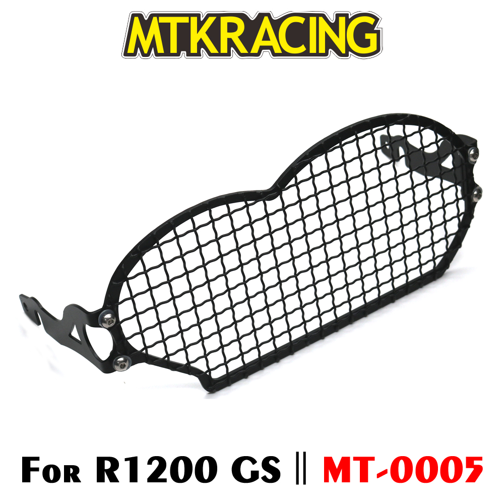 MTKRACING For BMW R1200GS R 1200 GS Adventure ADV 2004-2012 Motorcycle modification Headlight Grille Guard Cover ProtectorMTKRACING For BMW R1200GS R 1200 GS Adventure ADV 2004-2012 Motorcycle modification Headlight Grille Guard Cover Protector