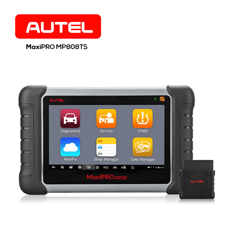 Autel MaxiPRO MP808TS TPMS Diagnostic Tool Complete TPMS Service Wide Range OBD Relearn  ...