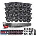 ANNKE 24CH 720 P 4 ТБ HDD AHD DVR Открытый ИК День Ночь CCTV Камеры Системы Безопасности