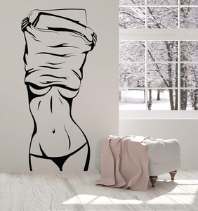 Image 1 - Vinyl Wall Decal Hot Girl Beautiful Female Body  Stickers Unique Gift 2LR2