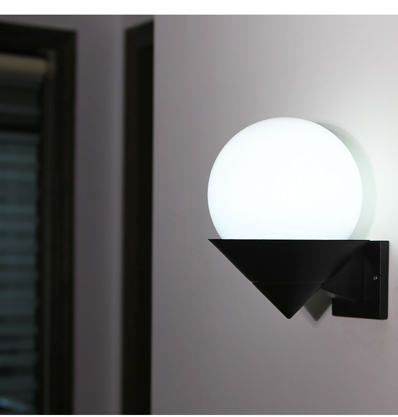 attic wall lamps bedroom stairs corridor bathroom terrace creative acrylic sun shade single head wall lights