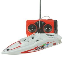 2019 New Remote control high speed racing boat double Parent-child interaction toy RC boats electric with play(China)