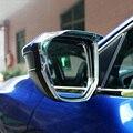 Für Honda Civic Limousine Coupe Fließheck 2016 2017 2018 Chrome Rückansicht Seiten Tür Spiegel Regen Visier Shade Abdeckung Trim auto Styling-in Spiegel & Abdeckungen aus Kraftfahrzeuge und Motorräder bei