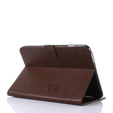 Leather Flip Stand Cover Case For Samsung Galaxy Tab 4 T530  T535