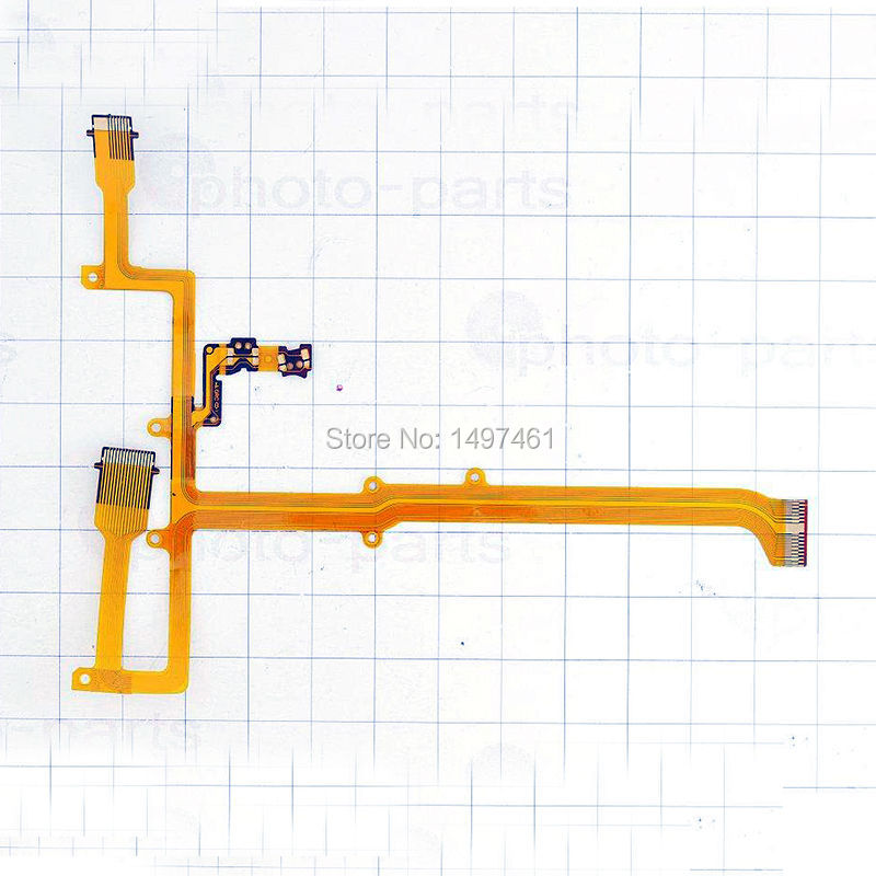 US $7 99 |LCD hinge rotate shaft Flex Cable for Panasonic HDC SD40 HDC TM40  HDC TM60 SD40 TM40 TM60 Video Camera -in Camera Flex Cables from Consumer