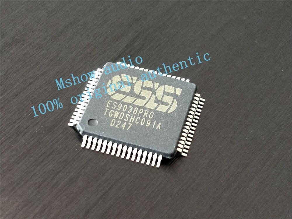 ES9038pro es9038 9038 dekoder DAC chip 1 sztuk 100% oryginalny autentyczny darmowa wysyłka w Wzmacniacz od Elektronika użytkowa na  Grupa 1