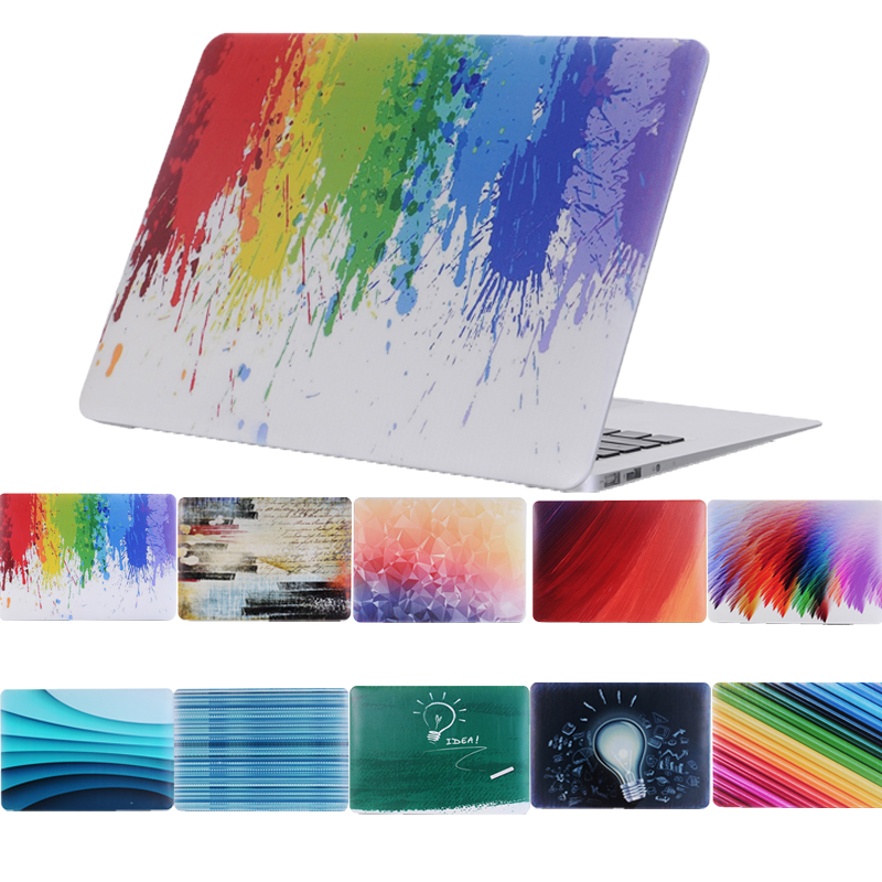 Colorful Painted Reto PC Funda for Macbook Air 11 13 Laptop Case For Macbook Air Pro Retina 11 1 3 15 12 Matte Laptop Cover все цены