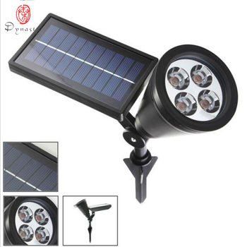 цена на Dynasty Led Solar Lawn Lamp Outdoor Spot Light Landscape Spike Lights Super Bright Villas Courtyard Garden Park Tree Decoration