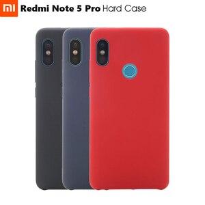 Image 1 - Étui rigide officiel dorigine Xiaomi Redmi Note 5 Pro