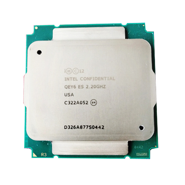 QEY6 XEON E5 ES engineer sample of XEON E5 v3 2695v3 2695 V3 2683 V3 x99 motherboard socket 2011 v3