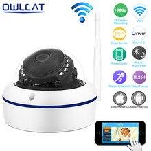 OwlCat Full HD 1080 P 720 P Wi-Fi Ip-камера 2-МЕГАПИКСЕЛЬНАЯ P2P ИК Onvif Smart Сетевая Купольная Видеонаблюдения Камеры Безопасности iPhone Android