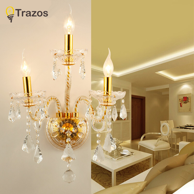 Современный минималистский светодиодный кристалл лампы ночники бра ванная комната зеркало свет прямой творческий проход