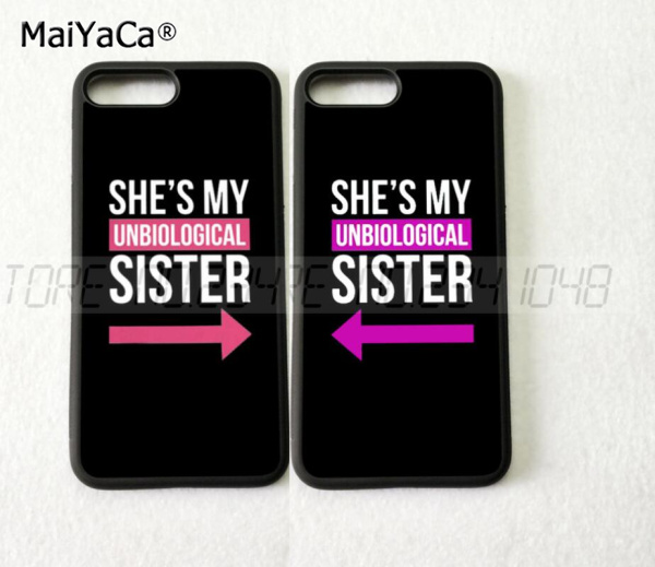 My Sister Bff Best Friends Foreve Pair Silicone Softe