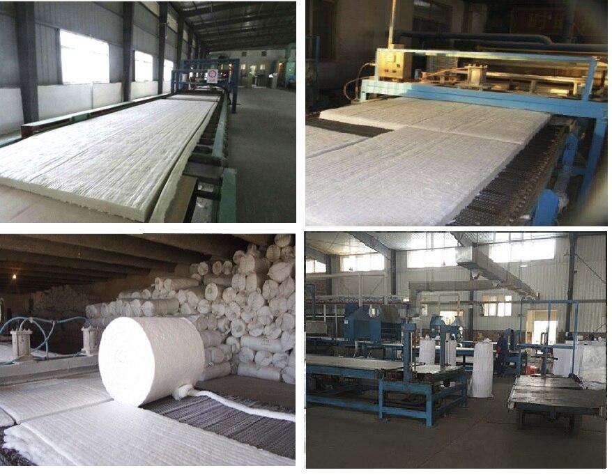 Silicaat de alumínio anti fibra refratária cobertura