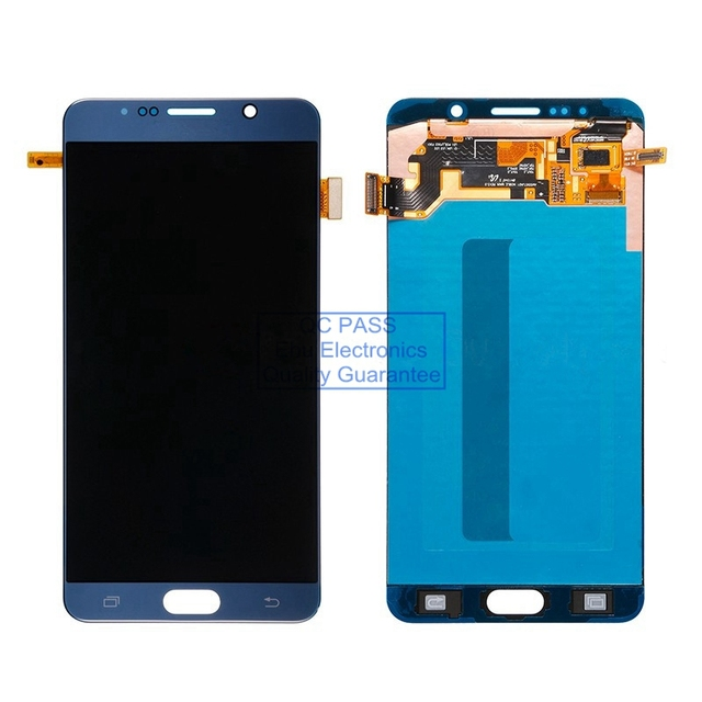 Novo display lcd touch screen digitador assembléia para samsung galaxy note 5 n920r4 sm-n920t sm-n920a sm-920v