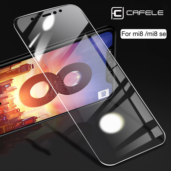 CAFELE Tempered Glass For Xiaomi MI 10 Pro 5s 6 8 9 se Mix2 2s 9t pro Screen Protector HD Clear Ultra-thin Protective Glass Film