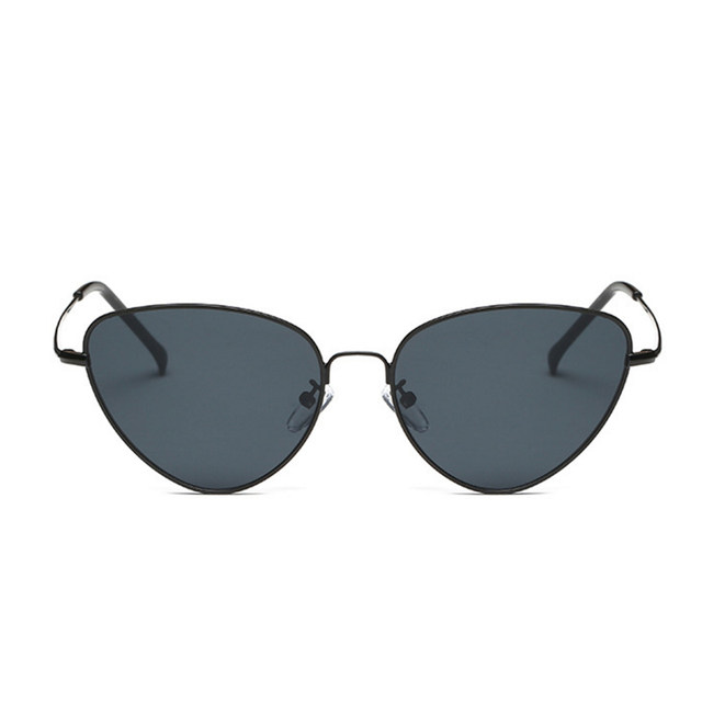 4e6a14bbf27 Retro Vintage Sunglasses Women Small Face Luxury Cateye Pink Ladies  Sunglasses Fashion Men Yellow Tinted Lens Eyewear