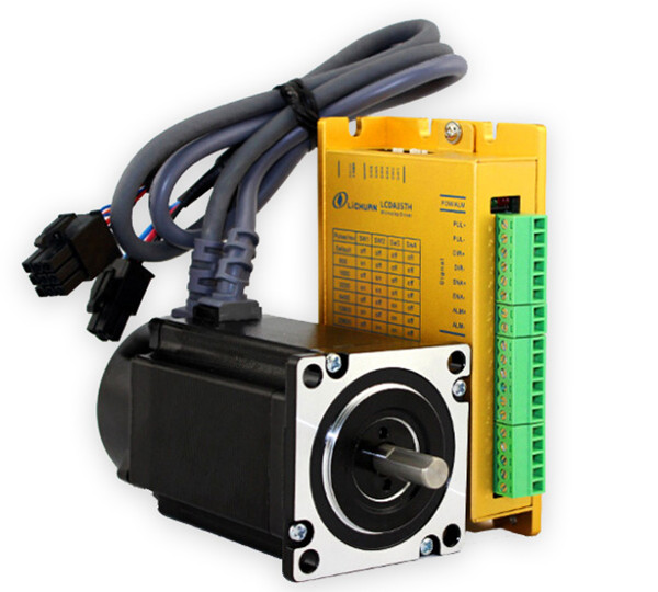 New 3 phase 57 nema23 servo closed loop stepper motor and for Three phase stepper motor driver