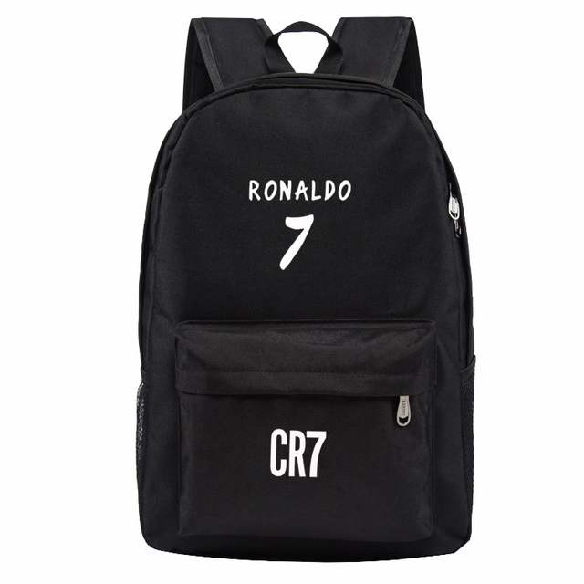 placeholder Teen Backpack Men School Bags for Teenagers Boys Book Bag Back  Pack Ronaldo kids Bookbags for 4330b716af328