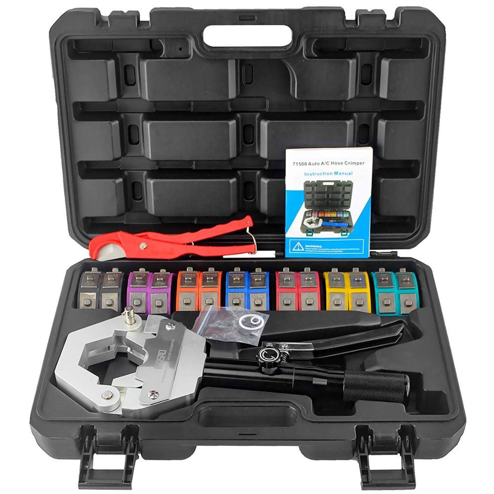 Ручной инструмент для обжима гидравлических шлангов, автоматический шланг A/C, щипцы для ремонта, воздушный шланг 71500, бесплатная доставка