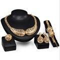 african beads jewelry sets for Women Moon Hypoallergenic Necklace Earrings Bracelets Rings casamento festa Jewelry Sets S0238