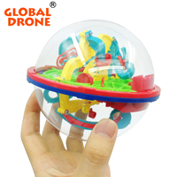 3D Magical Intellect Maze Ball Kids Amazing Balance Logic Ability Toys Learning Educational IQ Trainer Game