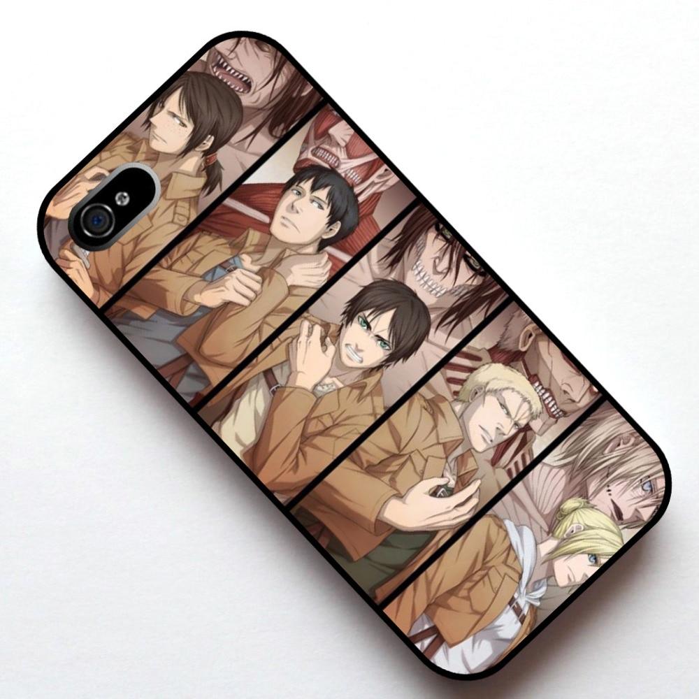 Titan Manga Anime Durumda Kapak, Apple Iphone 4 4 s 5 5 s 5c 6 6 s 6 artı 6 s artı