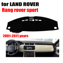 Car dashboard cover for LAND ROVER Range rover sport 2001-2011 Left hand drive dashmat pad dash cover auto dashboard accessories