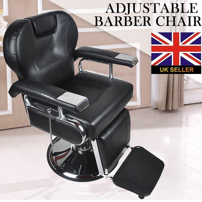 Adjustable Reclining Hydraulic Styling Barber Salon Hair Cutting Chair Black MAYITR mds808450 reclining wheelchairs