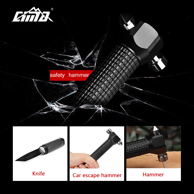 Car Emergency Knife and Hammer Tool