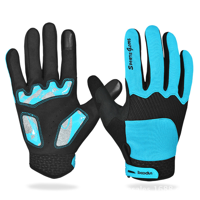 Touch-screen All-finger Gloves Ski Gloves Windproof Breathable Snowboard Gloves Outdoor Running Sports Running Skiing Gloves