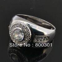 Arabski pierścienie dla mężczyzn/srebrny 925 materiał/sprzedaż hurtowa