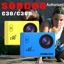 Action kamera Ursprüngliche SOOCOO C30 C30R Remote Ultra FHD 4 Karat WiFi 1080 P 2,0 LCD 170D Sport Gehen Wasserdicht Pro kamera deportiva