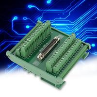 Terminal Module SCSI68 68 pin DB Type Female Connector Terminal Blocks Module Breakout Board Terminal Interface Module