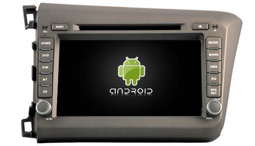 Android 6 0 font b CAR b font DVD player navigation FOR HONDA CIVIC 2012 LHD