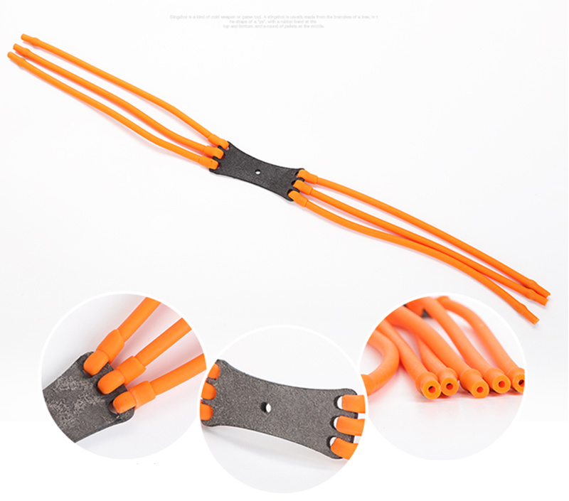 Powerful Alloy Hunting Sports Outdoor Rubber Slingshot