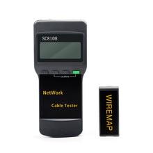 RJ45 SC8108 Portable LCD Network Tester Meter&LAN Phone Cabl