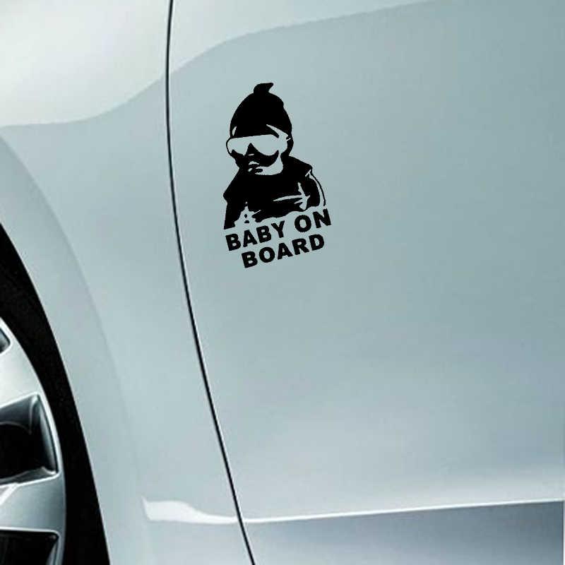 BABY ON BOARD Creativo Autoadesivo Dell'automobile di Avvertimento Coda Segno Della Decalcomania Per BMW X3 E83 F25 G01 3 Serie 318i 320i 325i 328i 330i X1 E84 F48