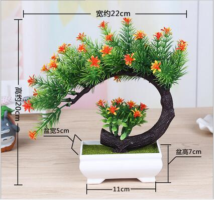 new artificial plant ornaments simulation tree bonsai indoor desktop Artificial Plants and Trees Indoor