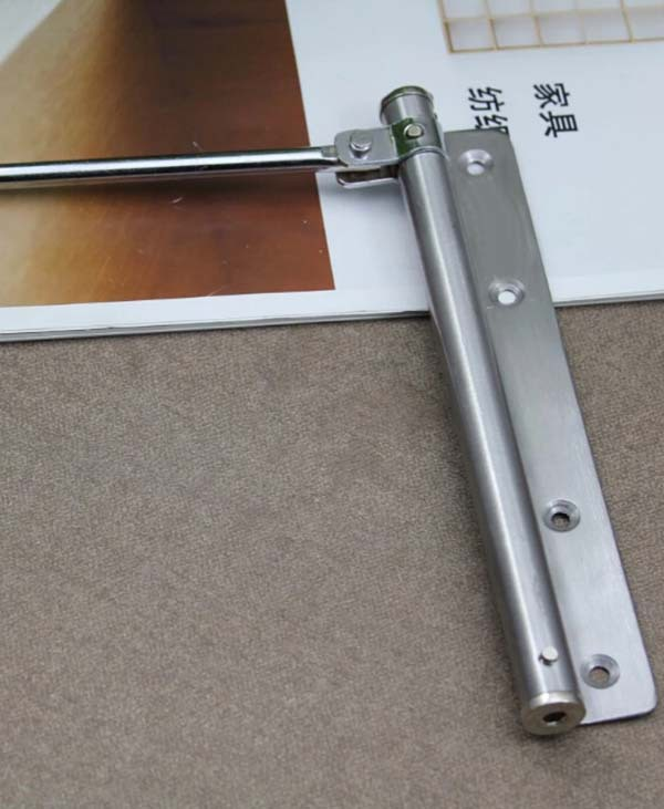 Simple door closers/shutter stainless steel household door catapult mouse tail automatic door closing device KF240-in Door Closers from Home Improvement on ... & Simple door closers/shutter stainless steel household door catapult ...